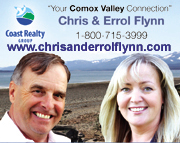 Chris and Errol Flynn Comox Real Estate